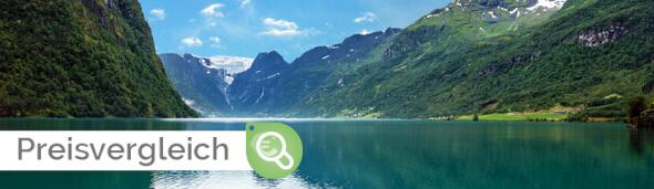 AIDA Preisvergleich Skandinavien mit Hardangerfjord 22.07.2020
